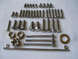 Honda titanium fasteners