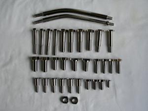 Lotus titanium fasteners