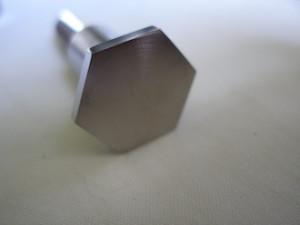 Lotus titanium slim head M8 bolt