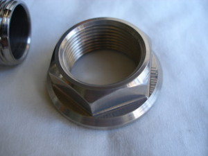 Kawasaki ZXR 7075 alloy swinging arm axle nut