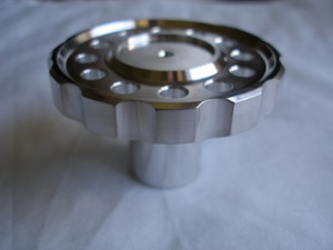 BSA RGS alloy steering damper knob thumb grips
