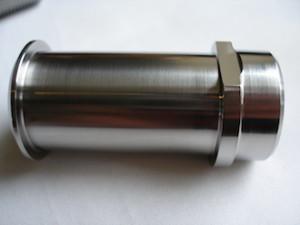 Honda RC30 titanium front wheel axle sleeve nut