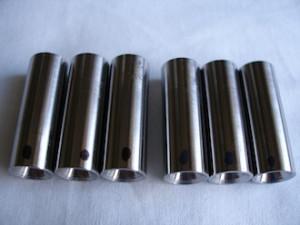 Titanium acoustic isolation shafts