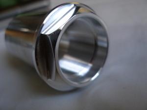 Kawasaki ZX12 7075 alloy front wheel axle sleeve nut head