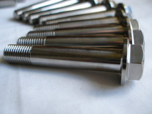 Montessa titanium suspension mounting bolts