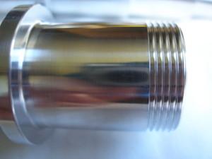 7075 alloy racing car axle thread