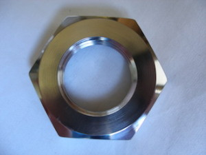 Yamaha R1 titanium sprocket nut
