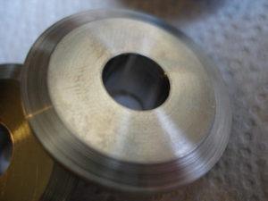 Titanium valve retainers, collet angle