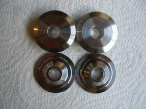 Titanium valve retainers