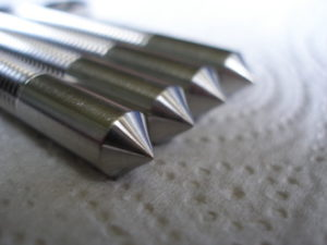 Titanium isolation shafts, spikey end