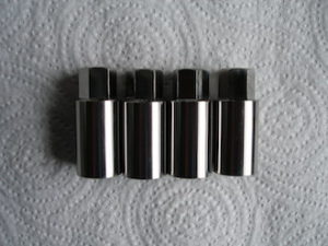 Titanium cylinder head sleeve nuts