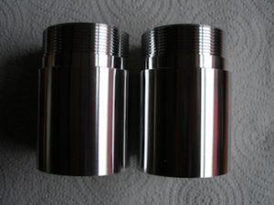 7075 alloy Ohlins fork extensions