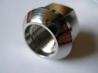 Porche titanium wheel nut
