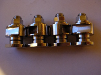 Ducati titanium floating disc bobbins, bolts and nuts