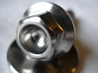 R1 titanium pickup bolt head