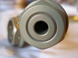 Yamaha R6 hard anodised 7075 alloy swinging arm axle nut