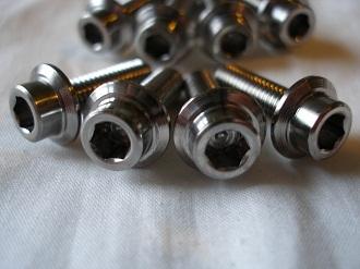 Yamaha R1 titanium pickup cover screws