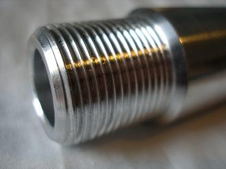 Yamaha R6 7075 alloy rear axle thread