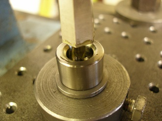 broaching the socket
