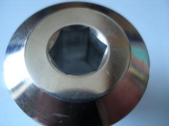 7075 alloy end caps, 10mm skt cap