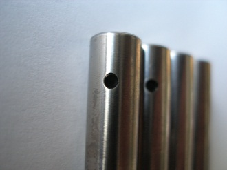 Titanium VFR brake pins
