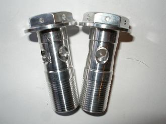 Yamaha R1 7075 alloy oil cooler blocks