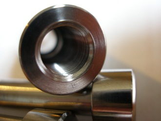 Titanium 3/8 cycle thread sleeve nut