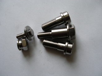Titanium Ducati Desmosidici sidestand bolts
