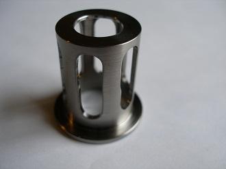 Titanium clutch spring retainer
