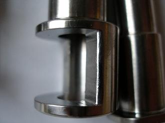 titanium brake pivots and cams