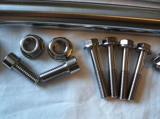 Buell titanium brake bolts