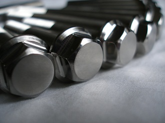 Titanium 7/16 UNF bolt heads