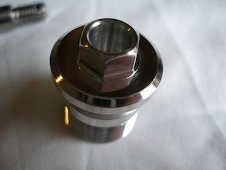 7075 alloy fork top bolt