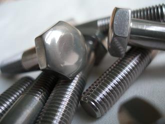 7075 alloy 5/16 BSF bolt heads
