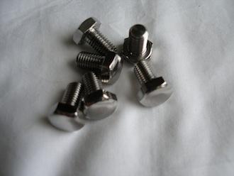 Titanium 5/16 BSF bolts
