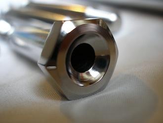 Yamaha R1 titanium suspension bolt hex head