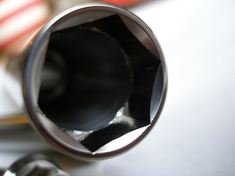 Titanium Montessa front spindle head