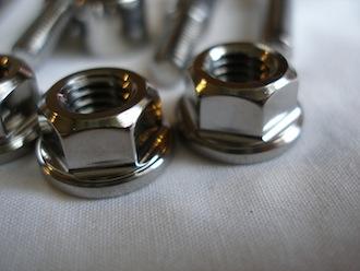 Montessa titanium M8 nuts