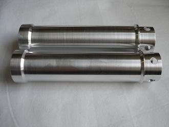 Triumph TR650 7075 alloy push rod tubes