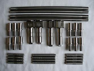 Honda 500/4 & 350 twin titanium parts