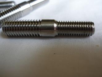 R1 titanium exhaust studs M8 and M7 threads