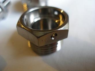 Ducati titanium M16 plug