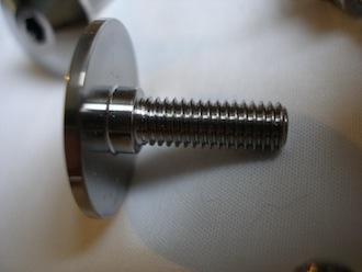 Ducati titanium button head bolt thread