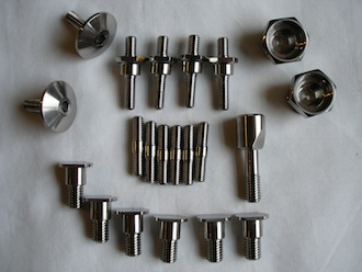 Ducati titanium fasteners