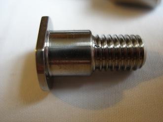 Ducati titanium shouldered bolt