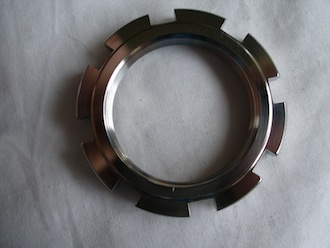 Honda SP2 titanium head stem ring nut