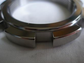 Honda SP2 titanium head stem ring nut C spanner slot