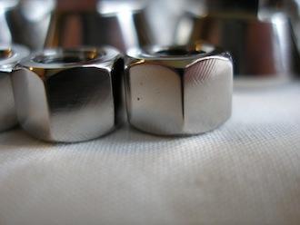 Lotus titanium M7 plain nut