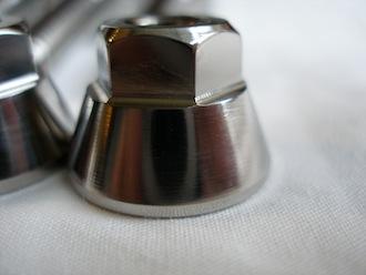 Lotus titanium M8 cone nut