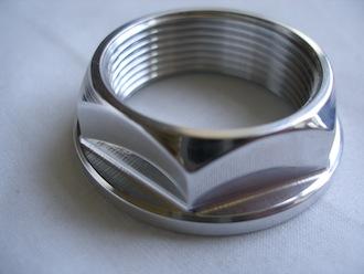 Yamaha R1 7075 alloy swinging arm spindle nut, 32x1.5